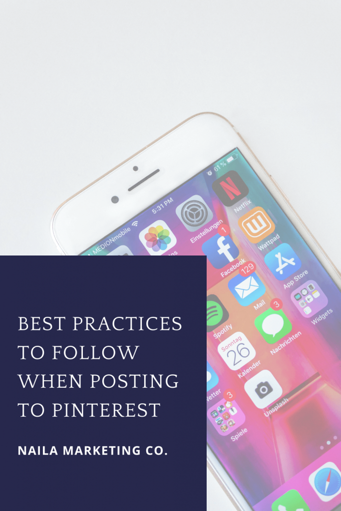 posting content on Pinterest tips